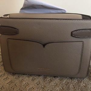 beigey-grey kate spade crossbody bag